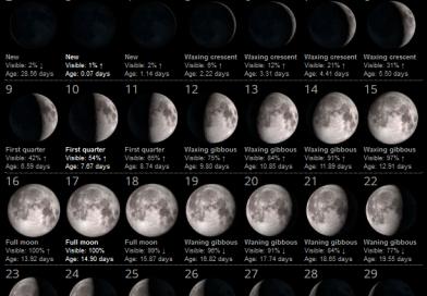 La Luna del Mese – Giugno 2019