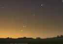 La Danza tra Mercurio e Giove all'Alba