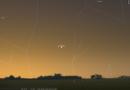 Congiunzione ravvicinata tra Giove e Mercurio