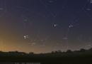 Congiunzione ravvicinata tra Venere e Saturno
